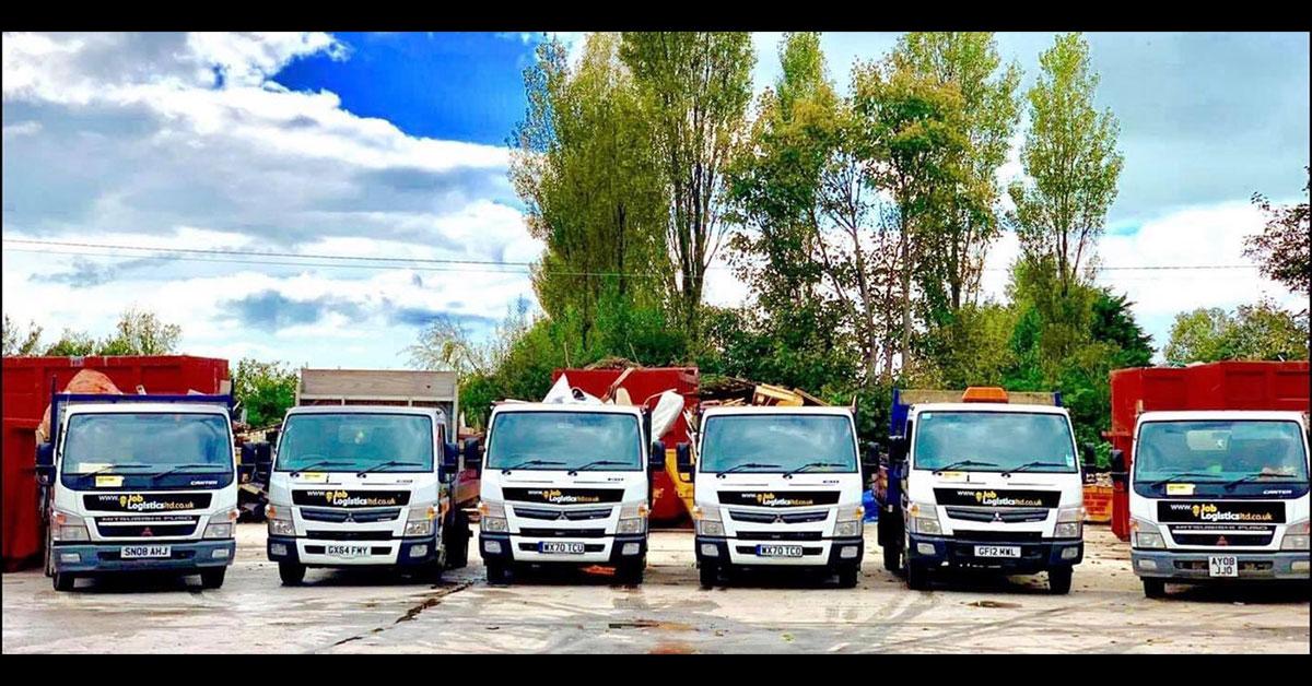 New waste collection trucks at Job Logistics