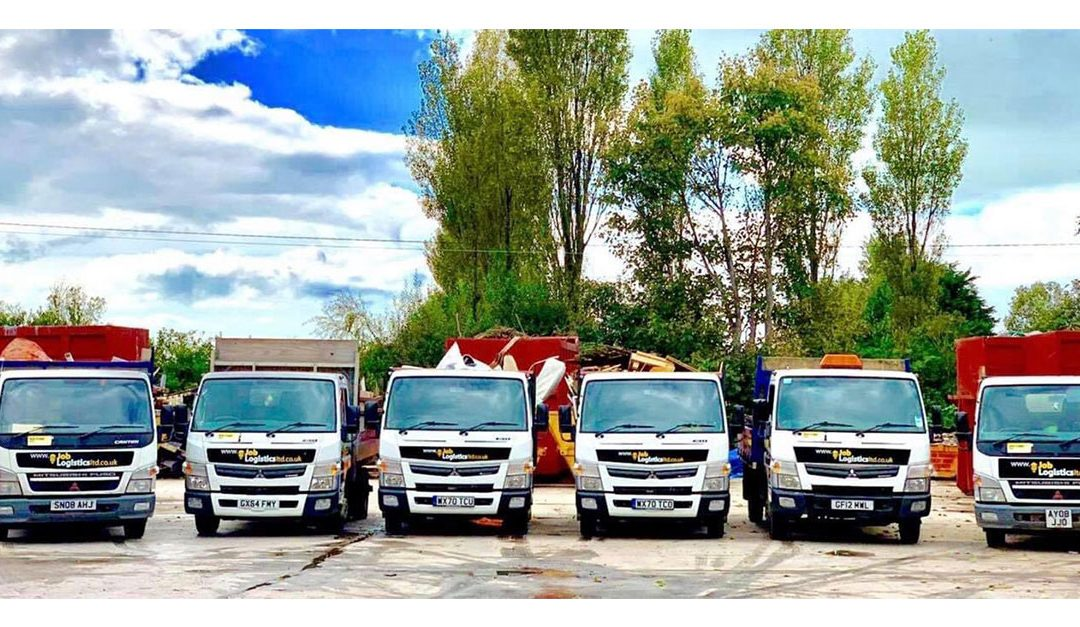 Waste Removal Trucks For Blackpool Depot