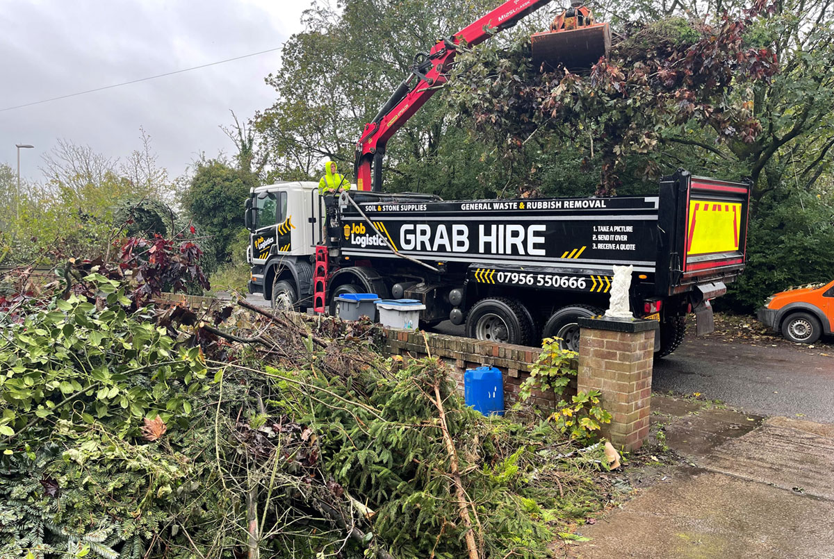 Large green waste clearance